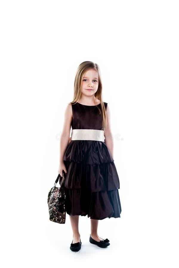 Petit fashionista photo stock