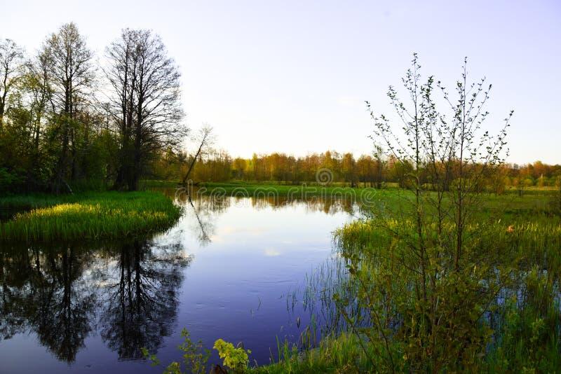 Petit fleuve images stock