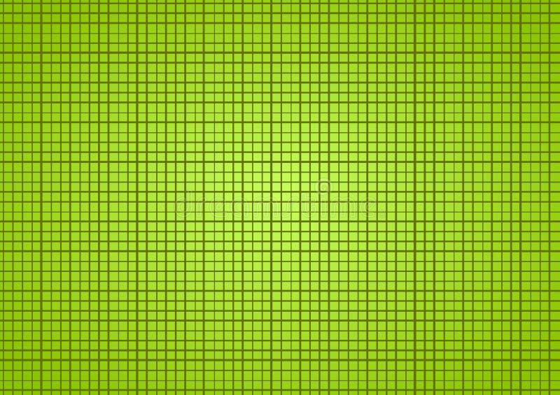 Petit fond vert de places illustration de vecteur