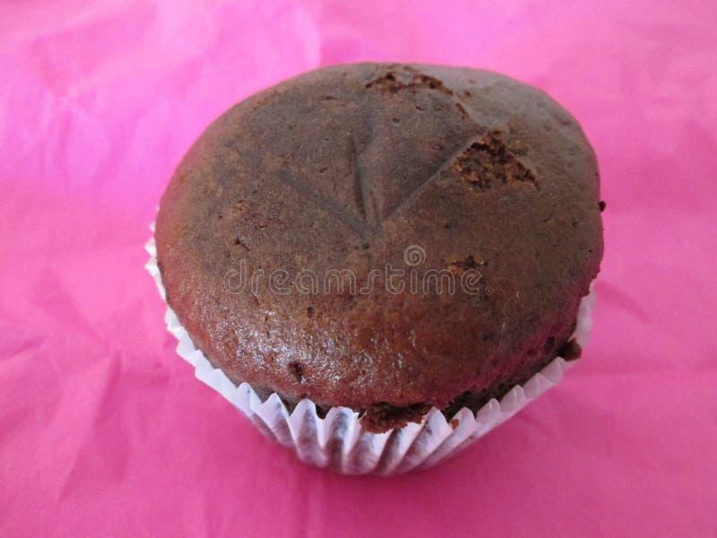 Petit gâteau de Brown image libre de droits