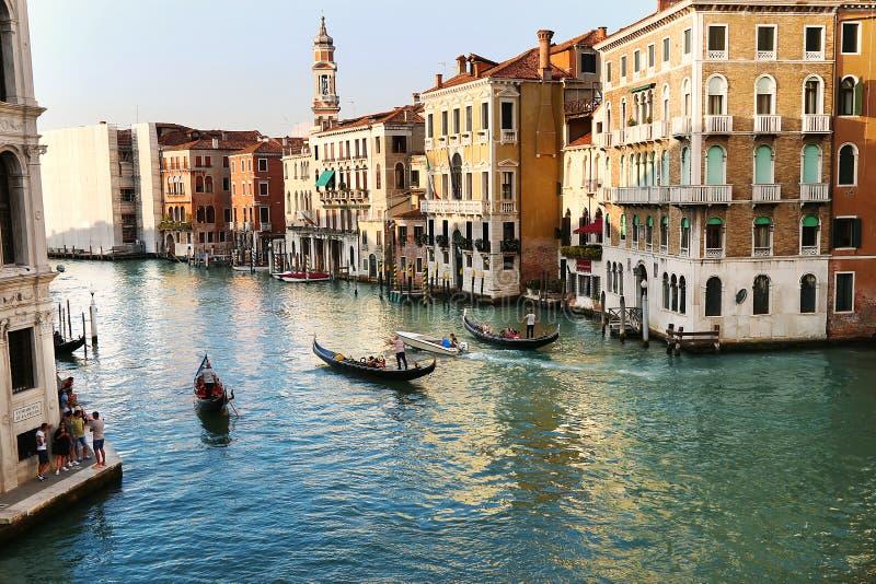 Petit groupe de Venise, Italie images stock