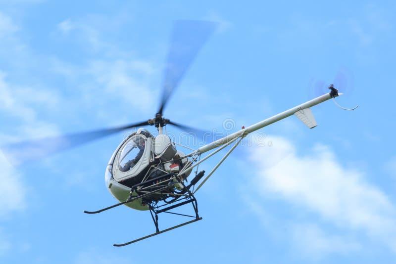 Petit hélicoptère image stock