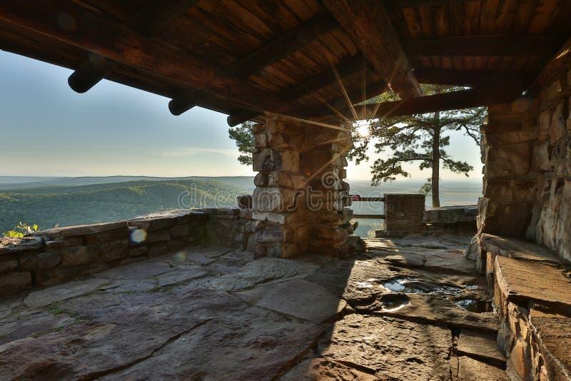Petit Jean Mountain Arkansas de V.S. stock afbeelding