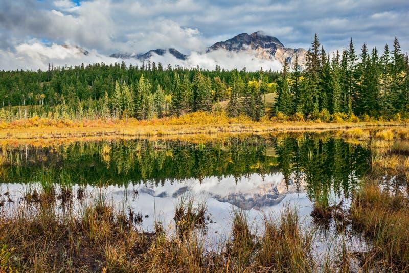 Petit lac adorable Patricia Lake photographie stock