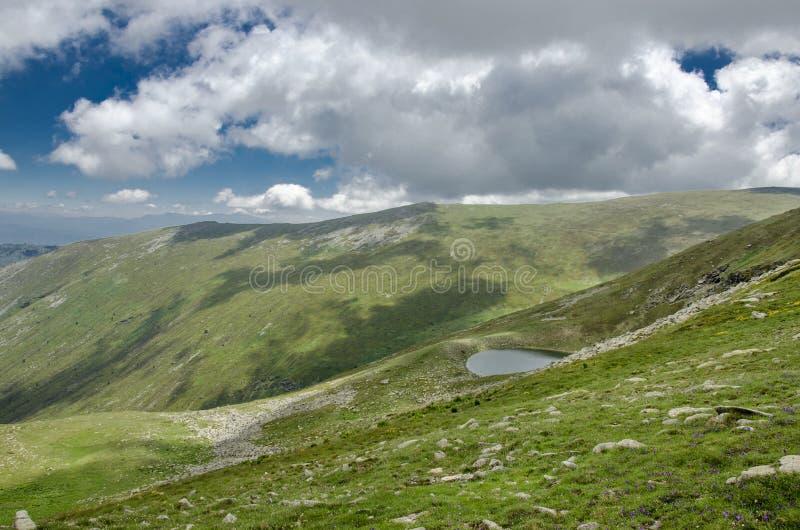 Petit lac - parc national de Pelister, Macédoine photo libre de droits
