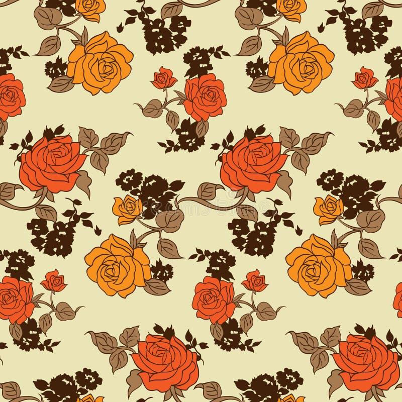 Petit modèle de fleurs 011 illustration libre de droits