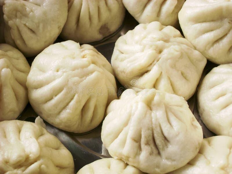 Petit pain chinois de casse-croûte de dim sum photographie stock libre de droits