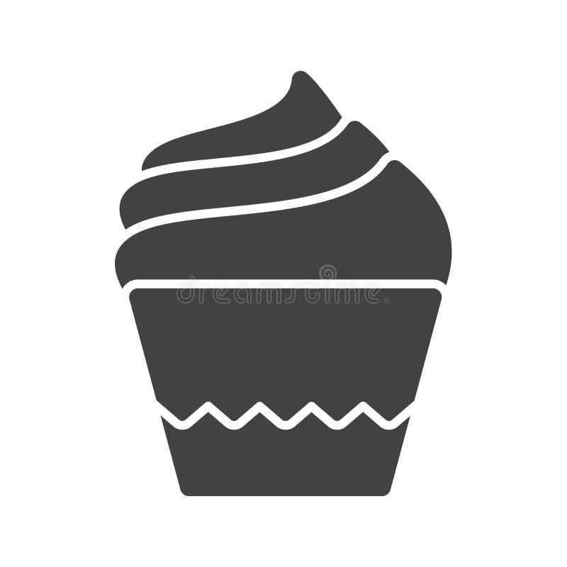 Petit pain crème illustration stock