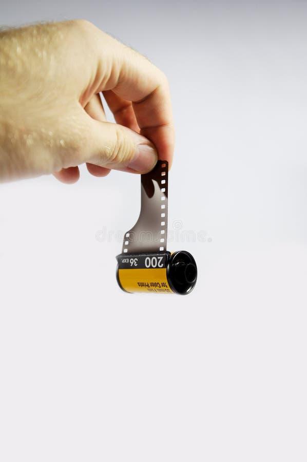 Petit pain 35 d'appareil-photo de film images stock