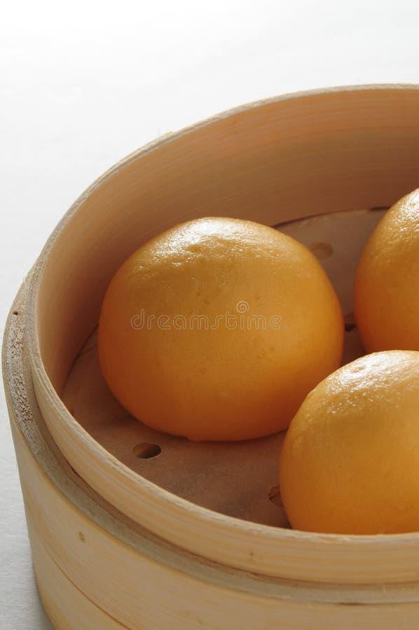 Petit pain de crème anglaise photo stock