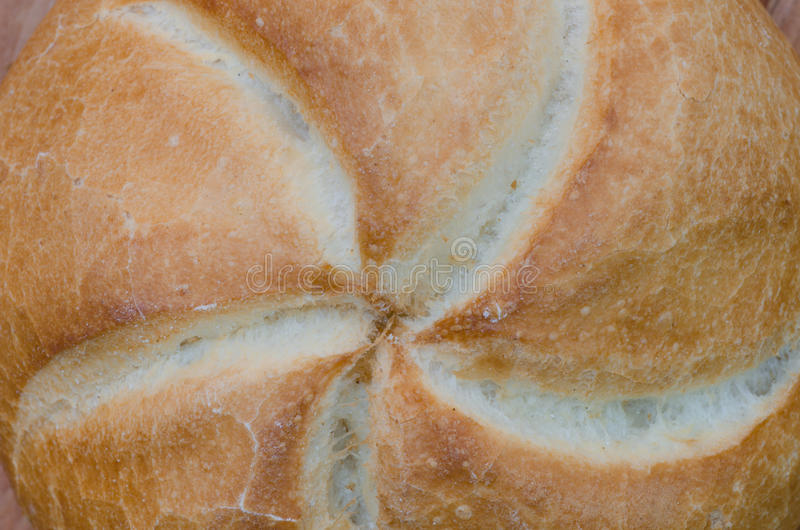Petit pain de petit pain de Kaiser photo libre de droits