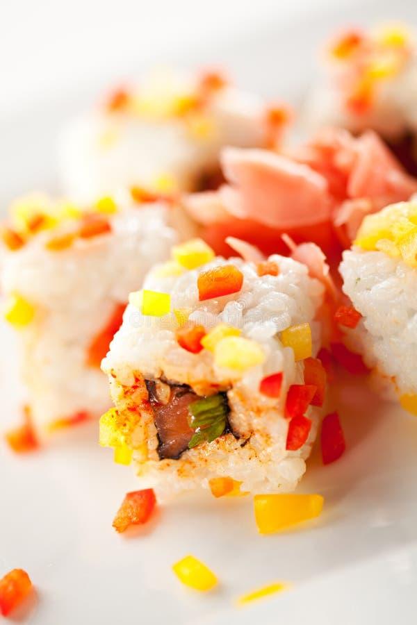 Download Petit pain de poissons photo stock. Image du paprika - 45366744