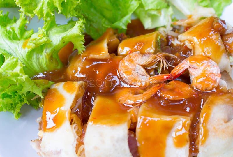 Petit pain de ressort frais thaïlandais images stock