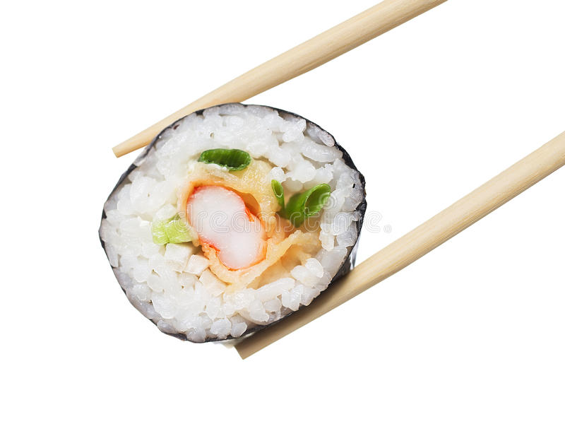 Petit pain de sushi image libre de droits