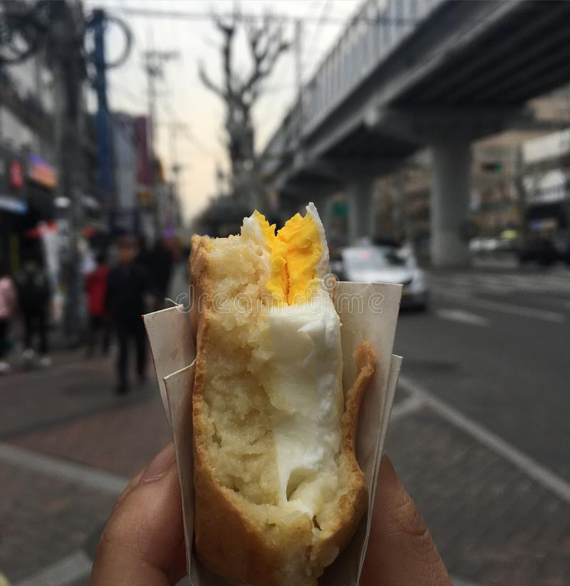 petit pain kyeranpan d'eeg image stock