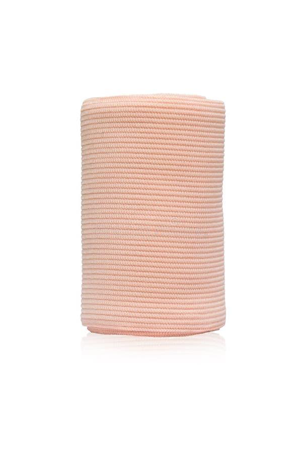 Petit pain médical de bandage, bandage élastique photos libres de droits
