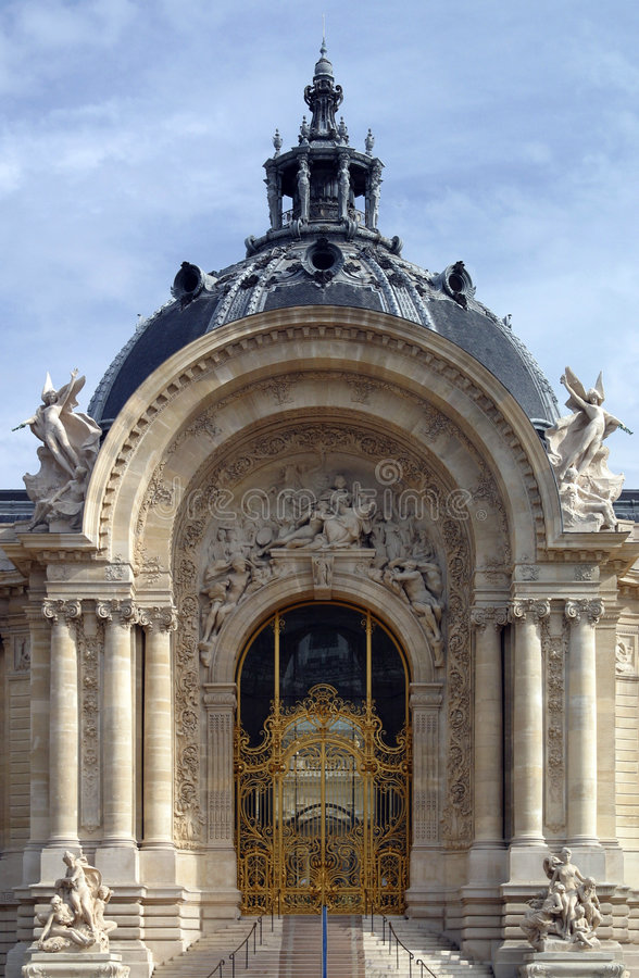 Download Petit Palace, Paris stock image. Image of gate, large - 2310999
