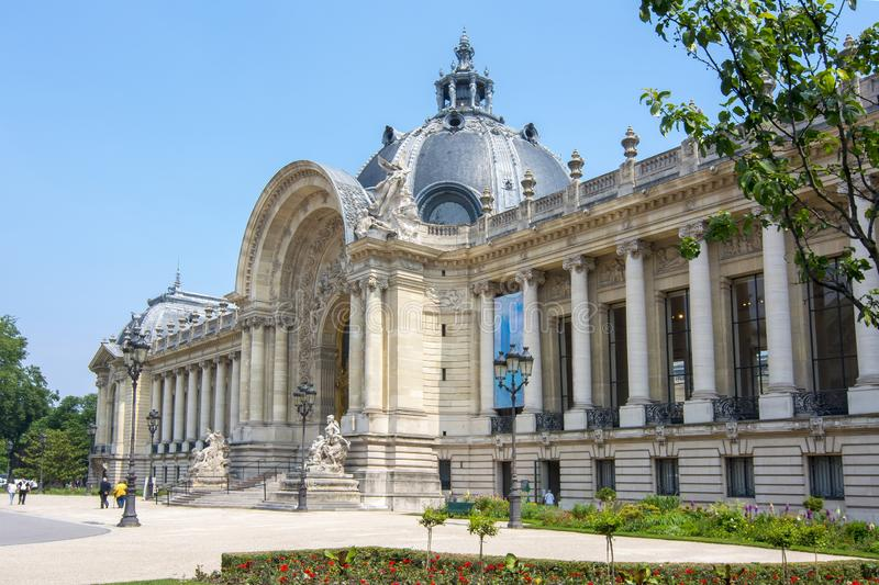 Petit palais de Petit Palais à Paris, France photographie stock