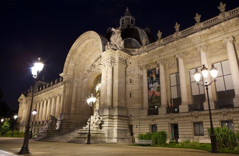 Petit Palais a Parigi fotografia stock