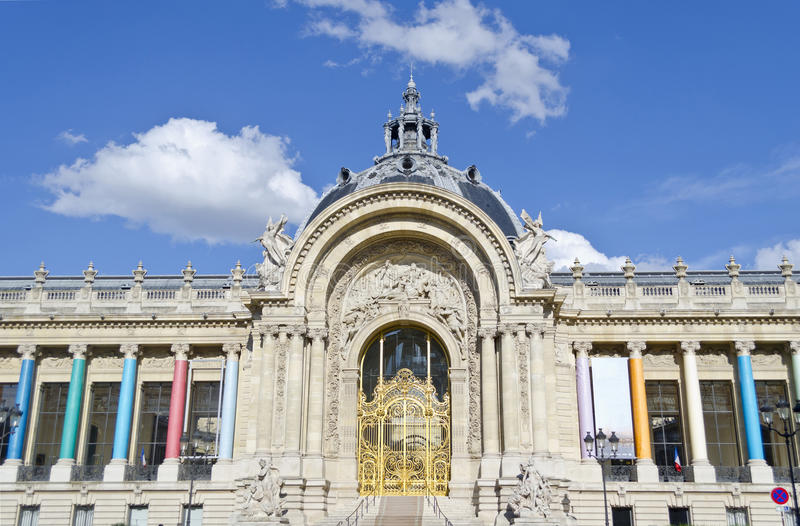Petit Palais - Paryż, Francja zdjęcie royalty free