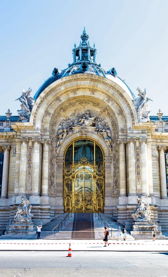 petit palais Paryża fotografia stock