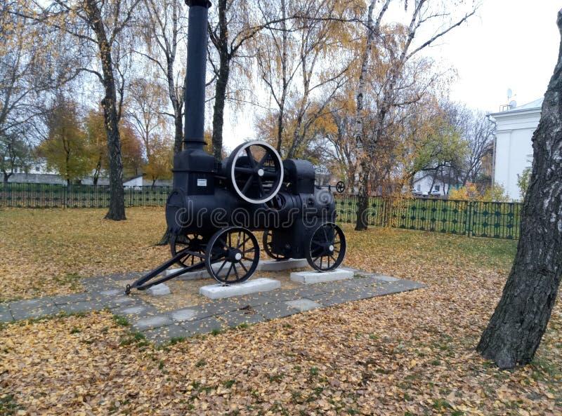 petit paravozik, région de Poltava image libre de droits