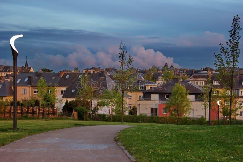 Petit parc de voisinage image libre de droits