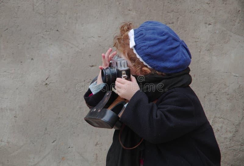 Petit photographe photos stock