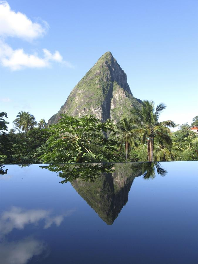 Free Petit Piton In St Lucia (portrait) Royalty Free Stock Photo - 42912045