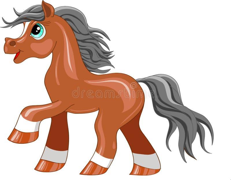 Petit poney illustration stock