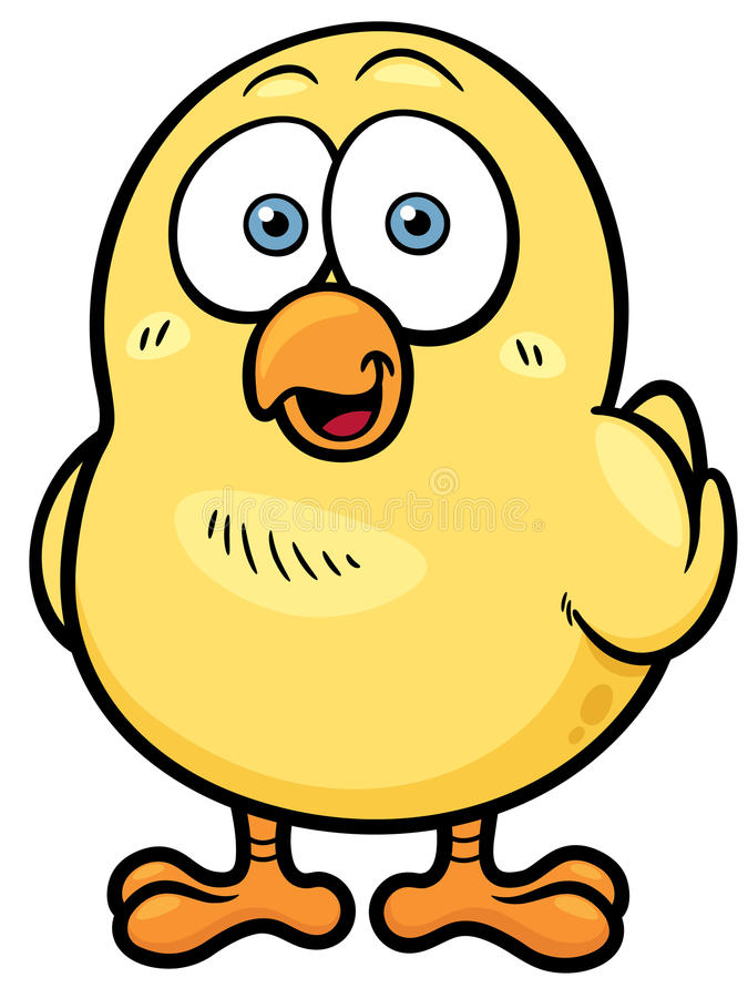 Petit poulet illustration libre de droits