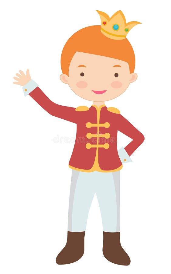 Petit prince mignon illustration stock
