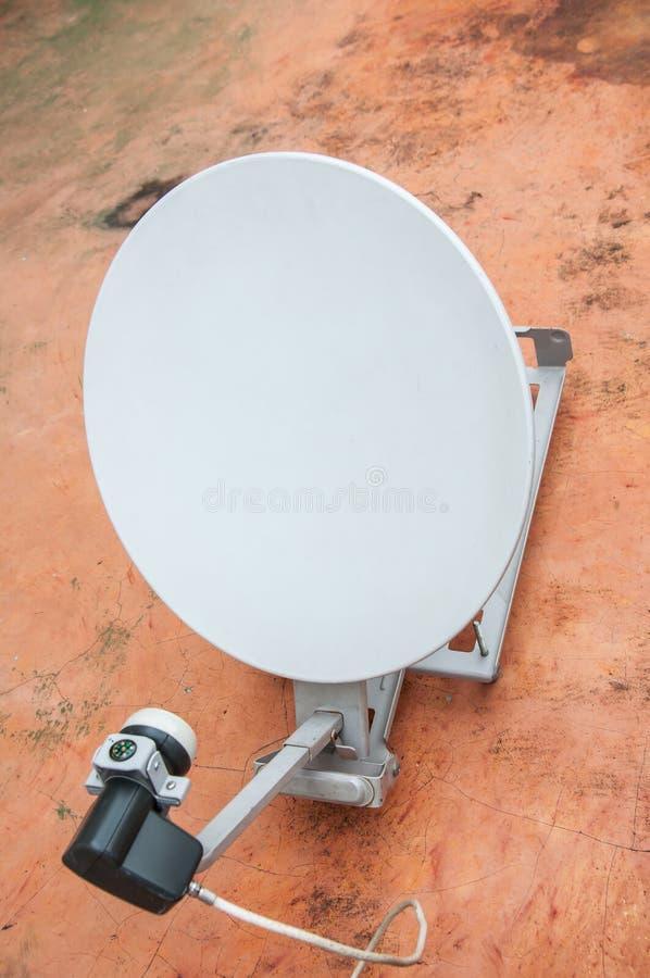 Petit récepteur satellite numérique photo libre de droits