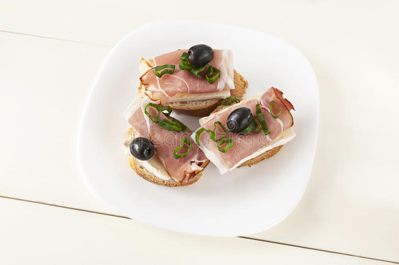 Petit sandwich image stock