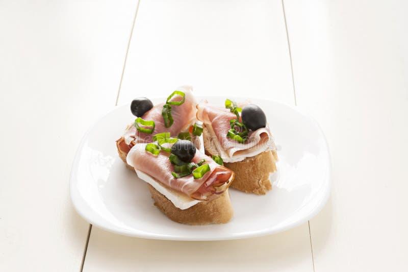 Petit sandwich photographie stock