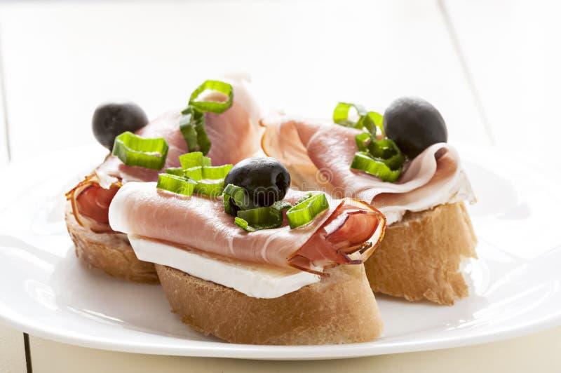 Petit sandwich photographie stock libre de droits