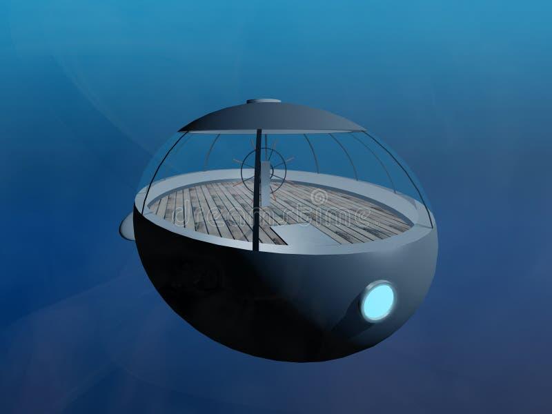 Petit sous-marin illustration libre de droits