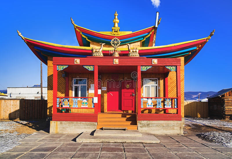 Petit temple bouddhiste photo stock