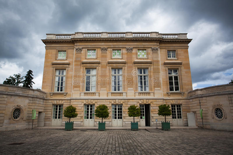 Petit Trianon. The Versailles palace, Petit Trianon stock photography