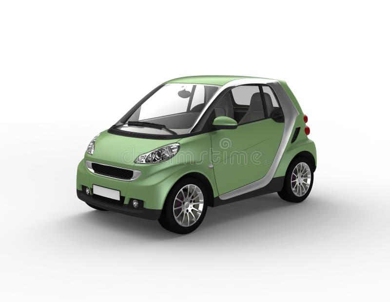 Petit véhicule vert illustration de vecteur