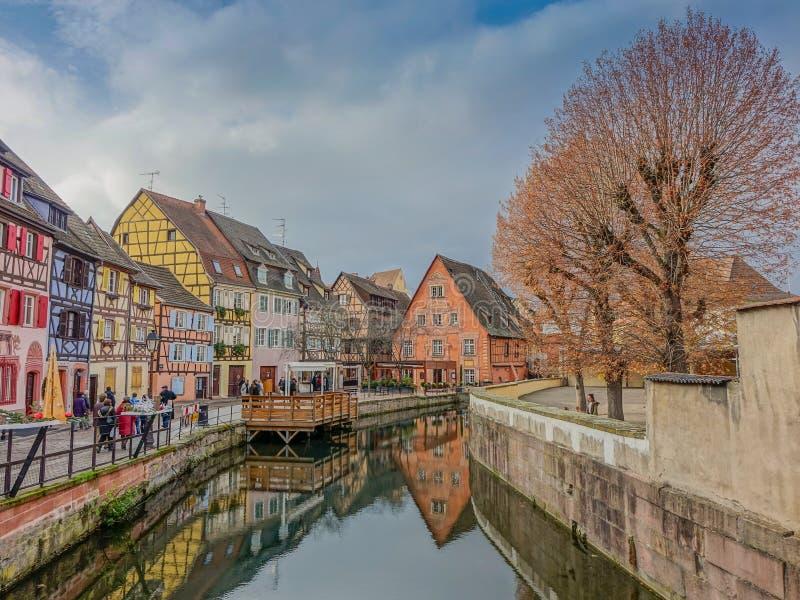 Petit Venise w Colmar zdjęcia stock