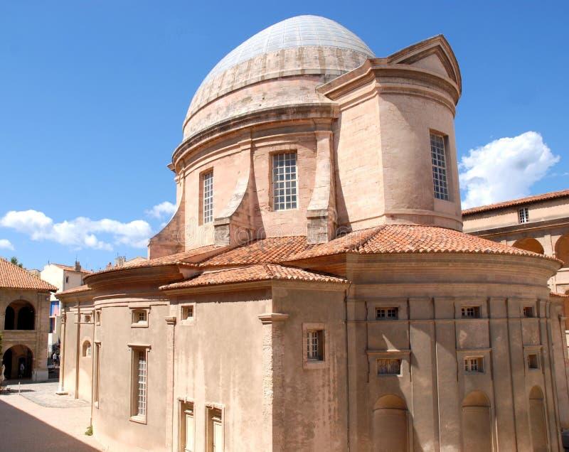 Petite église à Marseille images libres de droits