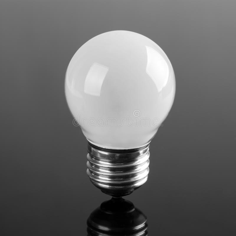 petite ampoule opaque image stock image du forme lumi re. Black Bedroom Furniture Sets. Home Design Ideas