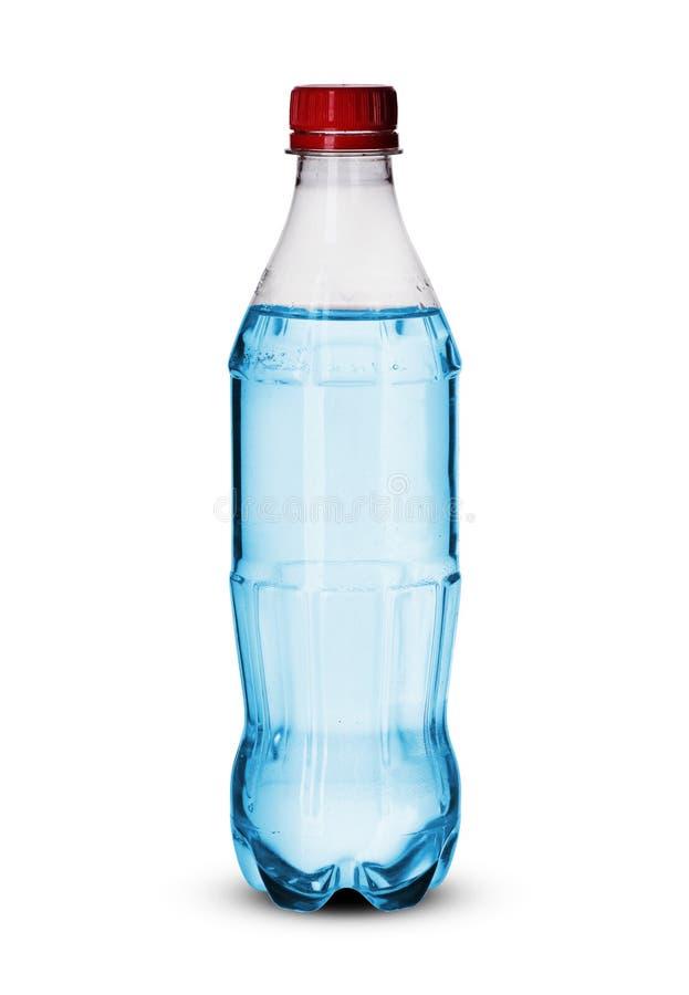 Petite bouteille en plastique images libres de droits