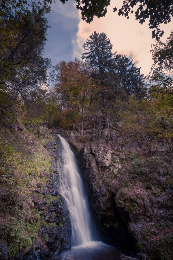 Petite cascade dans la forêt noire, Allemagne images stock
