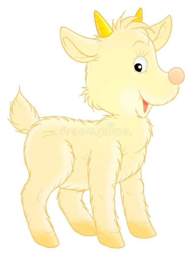 Petite chèvre illustration stock