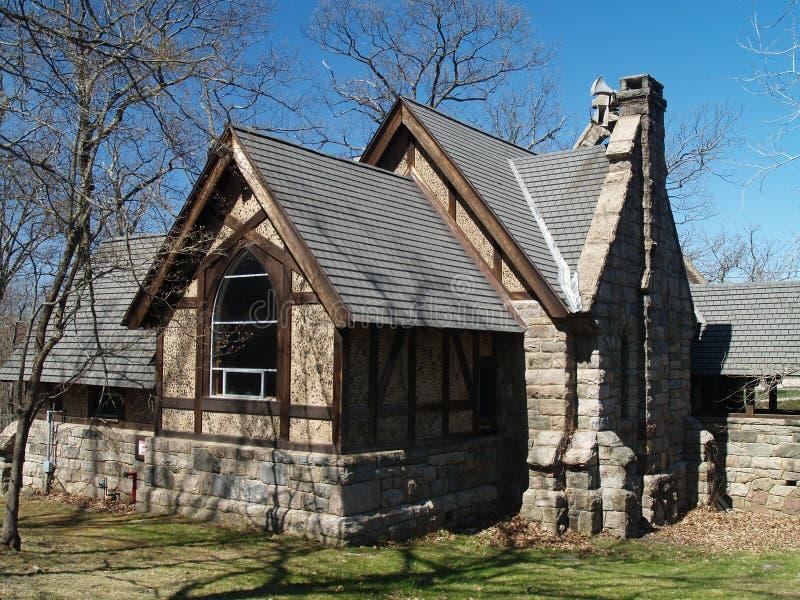 Petite chapelle en pierre photos stock