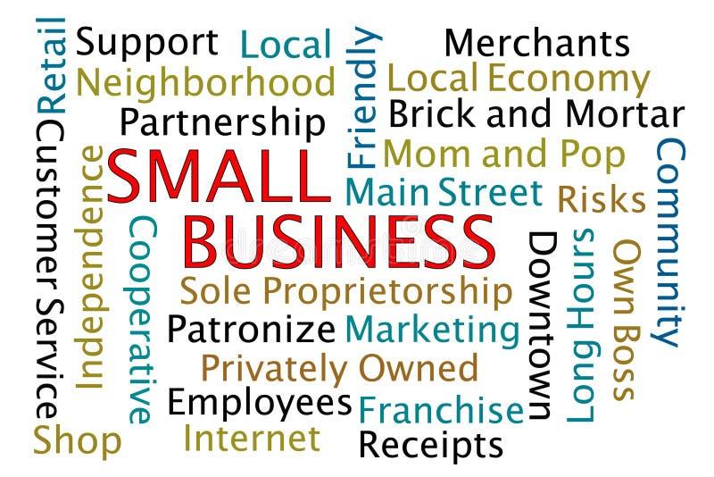 Petite entreprise illustration libre de droits