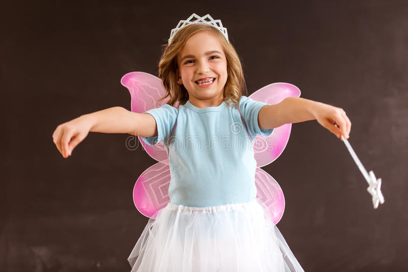 Petite fée avec du charme photo libre de droits