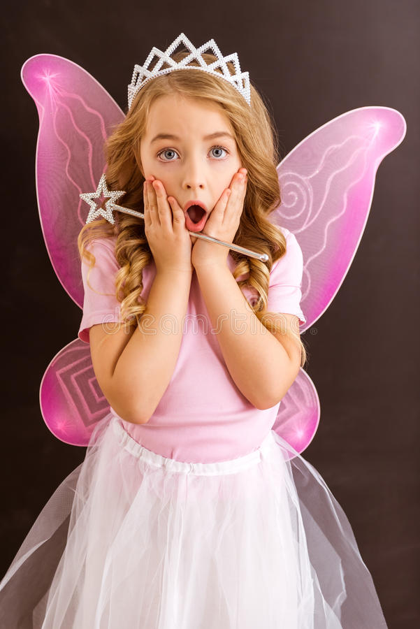 Petite fée avec du charme photos libres de droits